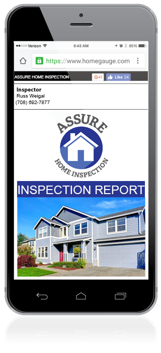 Laptop with Create Request List Sample home inspection Report
